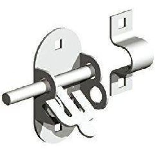 Oval PadBolt,Fixings Included,Gate/Garage/Shed Lock-Gatemate-Armstrong Supplies