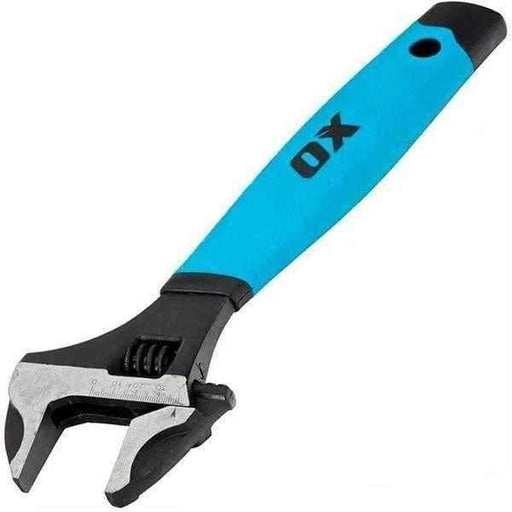 "OX Pro 6"" Adjustable Wrench 150mm Spanner & Extra Wide 34mm Jaw OX-P324606-Armstrong Supplies"