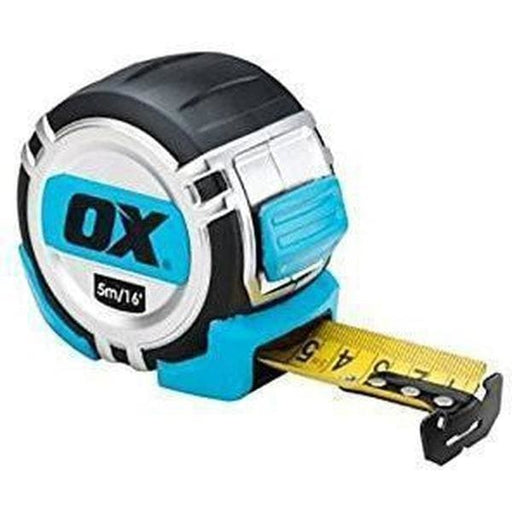 OX Pro Heavy Duty Metric/Imperial Tape Measure 5m OX-P028705-Armstrong Supplies-Armstrong Supplies