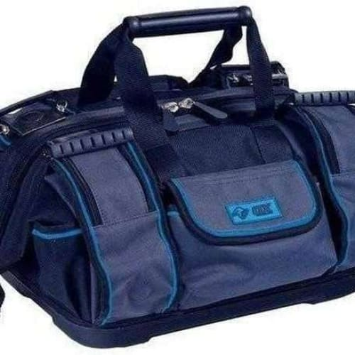 OX Pro Super Open Mouth Tool Bag, Black/Blue OX-P261645-Armstrong Supplies