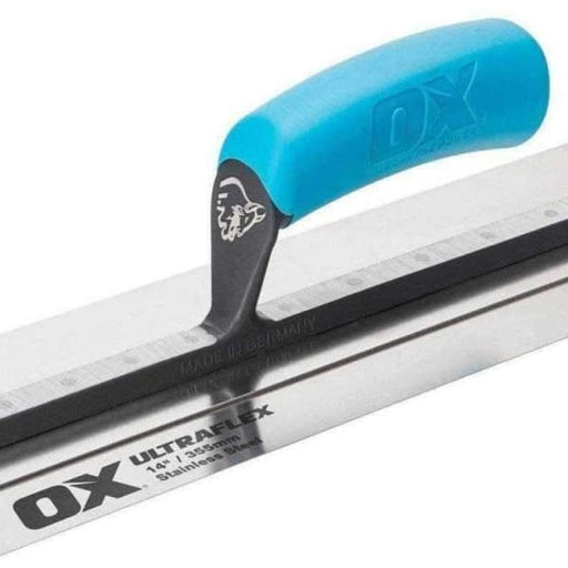 "OX Pro UltraFlex Finishing Plastering Trowel 18"" / 455mm OX-P530118-Armstrong Supplies"
