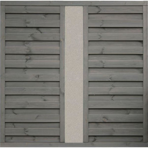 Palermo Treated Fence Panel with Solid Infil