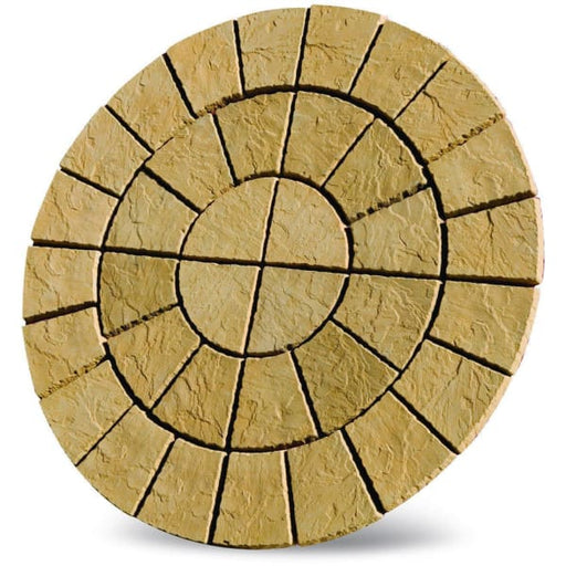 Cathedral Circle Paving Patio Kit 1.8m Barley-Armstrong Supplies