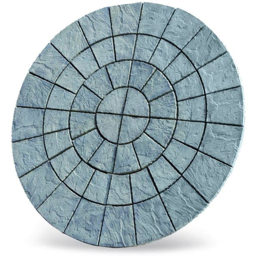 Cathedral Circle Paving Patio Kit 2.56m Weathered Moss-Armstrong Supplies