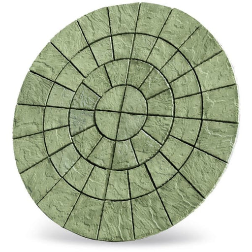 Cathedral Circle Paving Patio Kit 2.56m Weathered York-Armstrong Supplies