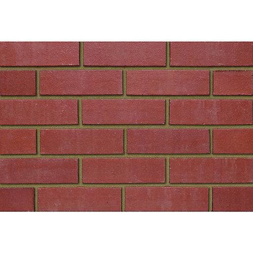 Perforated Class B Red Engineering Brick 65mm (Mini Pack of