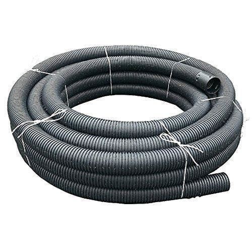 Perforated Land Drain Coil Pipe 100 Millimetre x 50 Metre-Akor Building Products-Armstrong Supplies