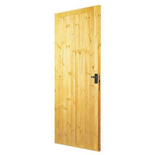 Premdor 57416 Frame Ledged and Braced Exterior Door, 686x1981x44mm-Premdor-Armstrong Supplies