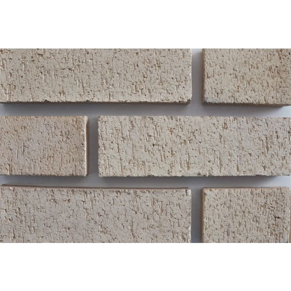 Raeburn Facing Brick 65mm Holyrood Buff Wirecut Pack of 452