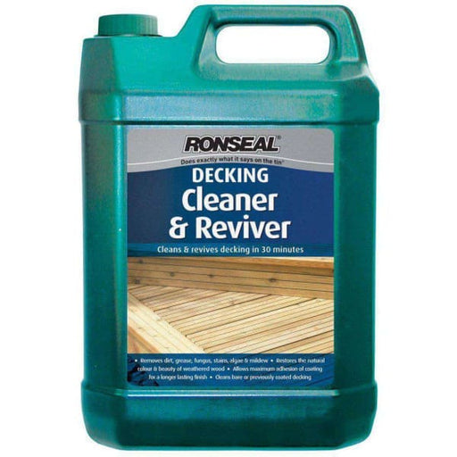 Ronseal Decking Cleaner & Reviver 5L-Armstrong Supplies