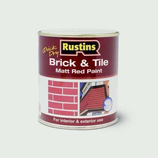 Rustins Quick Drying Brick & Tile 1L-Armstrong Supplies