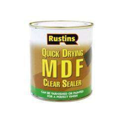 Rustins Quick Drying MDF Clear Sealer 1L-Armstrong Supplies