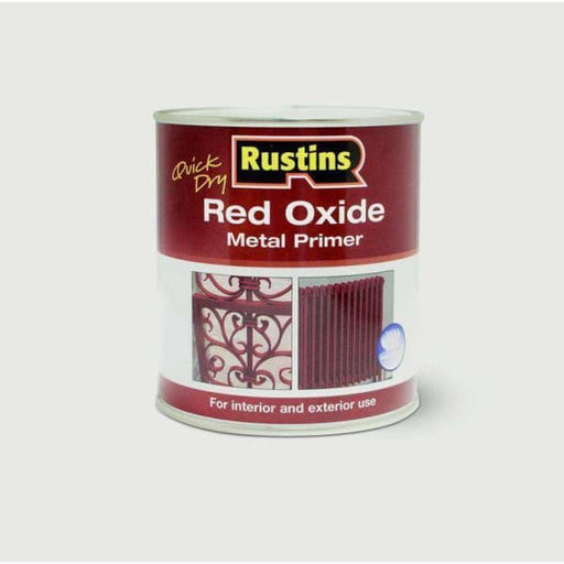 Rustins Quick Drying Red Oxide Primer 1L-Armstrong Supplies