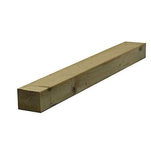 Sawn Timber C16 Floor Joist Treated 100x100mm (4x4)-Amstrong Supplies