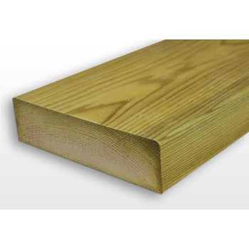 Sawn Timber C24 KD Floor Joist Treated 47x125mm (5x2) -Amstrong Supplies