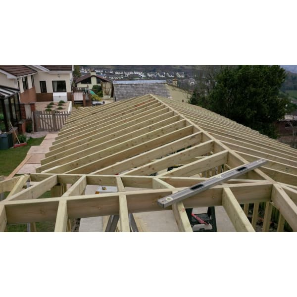 Sawn Timber C24 KD Floor Joist Treated 75x150mm (6x3)