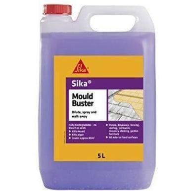 Sika Mould Buster - Removes algae, mold and green growth - 5L - Purple-Sika-Armstrong Supplies