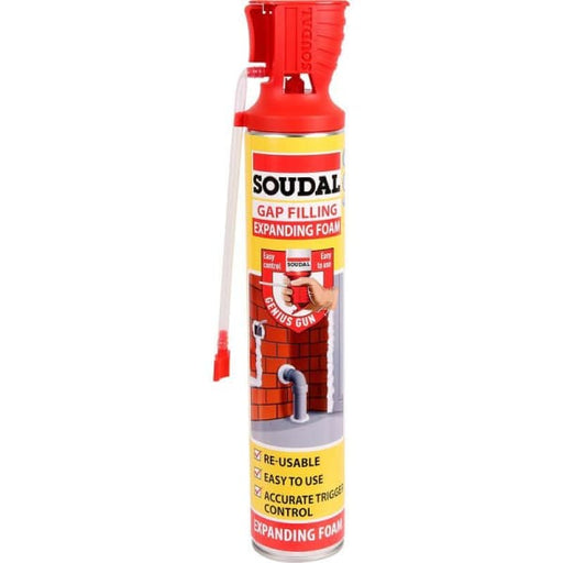 Soudal Genius Gun Gap Filler 500ml Expanding Foam-Soudal-Armstrong Supplies