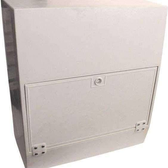 Mitras Surface Mounted White Gas Meter Box MK1 / Mark 1-Armstrong Supplies