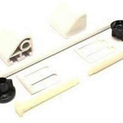 Toilet Seat Fitting Kit & Rod White Repair Kit-Armstrong Supplies