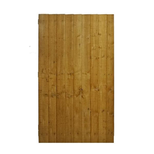 Vertical Board Featheredge Gate Dip Treated - Fence Panels