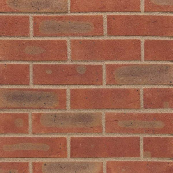 Wienerberger Facing Brick 65mm Caldera Red Multi Pack of 430