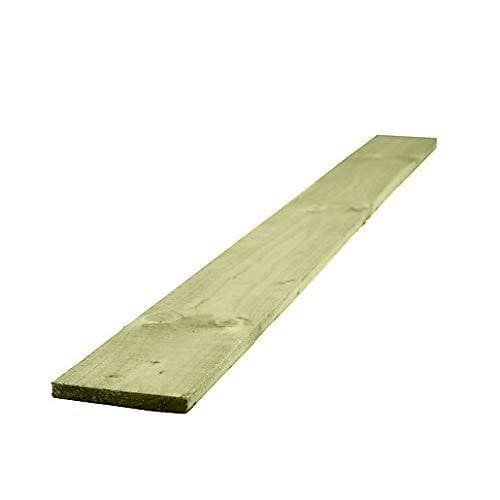 Wooden Gravel Board 150mm x 22mm - Lengths from 0.9m to 2.4m