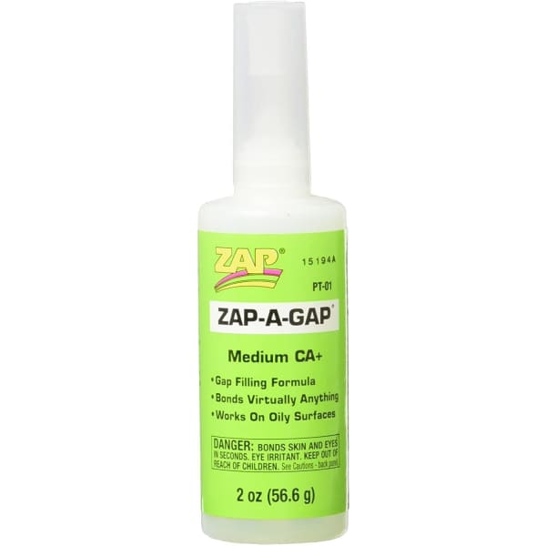 ZAP a GAP CA+ 2oz (6) PT01 (MEDIUM)