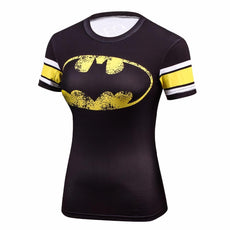 Ladies Batman Compressed T-shirt