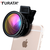 Professional HD Fisheye Lens 2 in 1 Smartphone Camera Lens for iOS & Android
