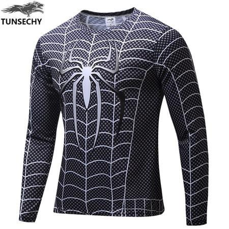 Exclusive High-Quality Black Spiderman Long Sleeve