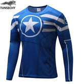 Exclusive High-Quality Captain America Long Sleeves