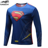 Exclusive High-Quality Orginal Superman Long Sleeves