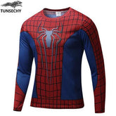 Exclusive High-Quality Red Spiderman  Long Sleeves