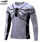 Exclusive High-Quality White Spiderman Long Sleeves
