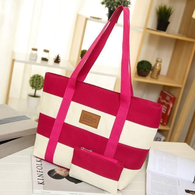 Fashion Stripes Handbags