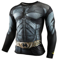 Mens Batman Sports Workout Gear