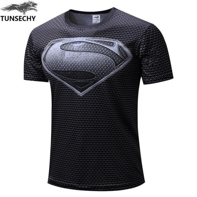 Exclusive High-Quality Black Superman T-shirt