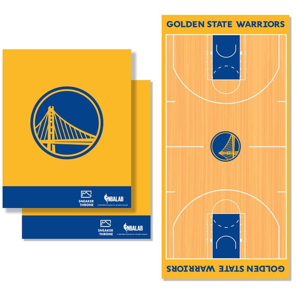 Golden State Warriors Decal Wrap Kit