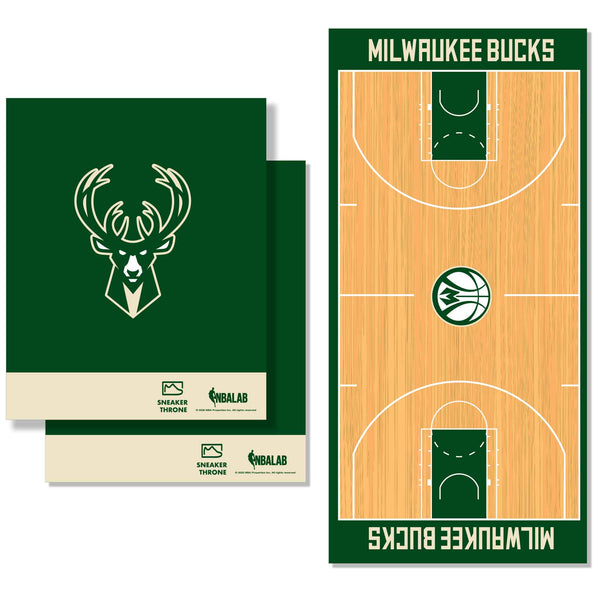 Milwaukee Bucks Decal Wrap Kit