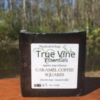 Caramel Coffee Squares - Soap Bar