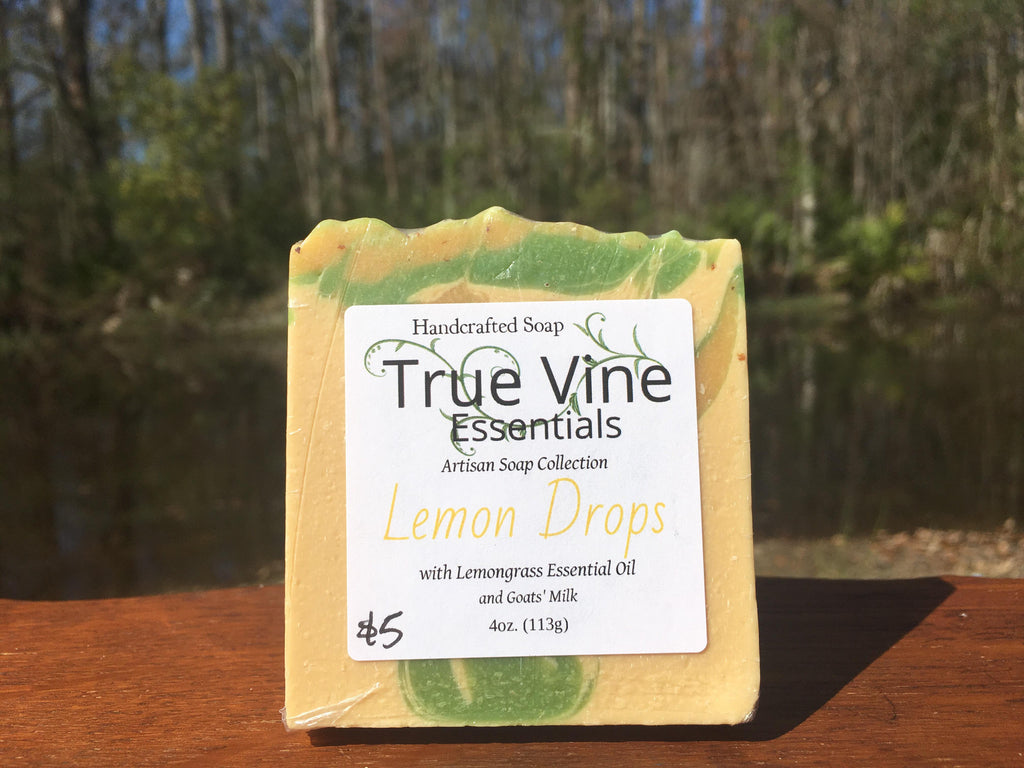 Lemon Drops - Lemongrass and Goats' Milk Soap Bar