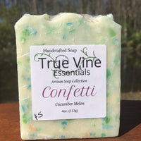 Confetti - Cucumber Melon Soap Bar