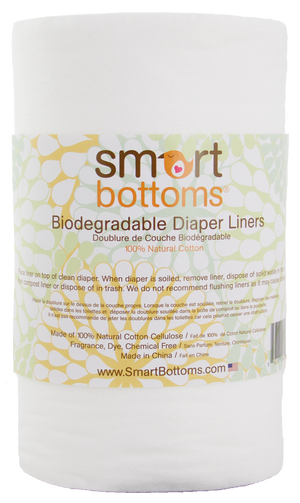 Smart Bottoms Biodegradable Diaper Liners