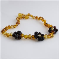 Children's Amber and Gemstone Necklaces - CHOOSE OPTION