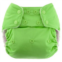 One Size Pocket Diaper w/ Organic Cotton Inserts - CHOOSE COLOR