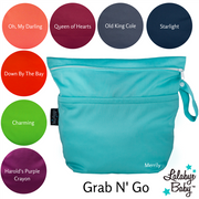 Grab n' Go Wet/Dry Bag (large) - CHOOSE COLOR