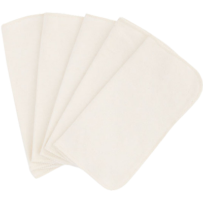 Organic Cloth Diaper Wipes - 5 Pack