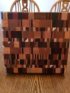 Symmetrical End Grain Chopping Block