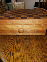 Chess / Checker Board with Drawers